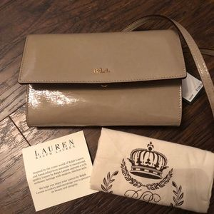 NWT!! Ralph Lauren Crossbody Purse